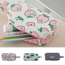 cute large capacity pencil case for girls