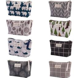 Cute Makeup Wash Storage Pencil Travel Pouch Cosmetic Bag Ca