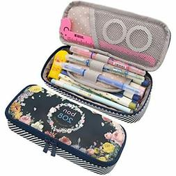 Cute Pencil Case Bag Pouch Holder For Middle High School Col