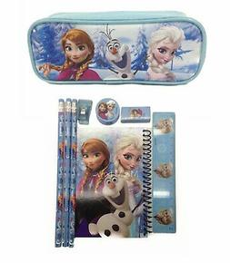 Disney Frozen Pencil Pouch Case with Stationery Set - Light