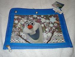 NEW DISNEY FROZEN SISTERLY LOVE ANNA ELSA PENCIL CASE 3 RING