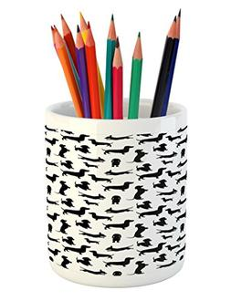 dog lover pencil pen holder