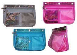Inkology Expandable Pouch, Design May Vary, 1 Pouch per Pack