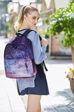 Floral Printed Women Backpack with Pencil Case School Bags F