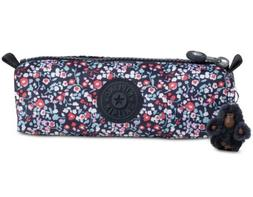 Kipling Freedom Pencil Case Glistening Poppy Blue/Silver