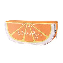 Gbell Fresh Cute Pencil Case Fruit Orange Watermelon Kiwi Pe