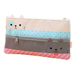 Funnylive Creative Learning Products,Cute Cat Pencil Case St