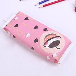 Funnylive Creative Pencil Case Cartoon Cookies Pen Bag Stude