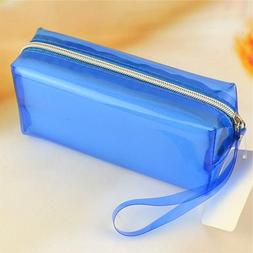 Funnylive Soft Large Capacity PU Pencil Case—Pure Color—