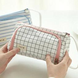 Gilrs Pencil Case Large School Pen Bag Student Stationery Bo