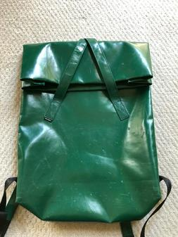 Green Freitag Kowalski Backpack with Pencil Case