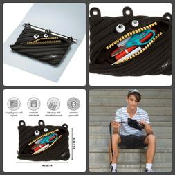 Zipit Grillz Pencil Case Pouch For 3 Ring Binder Cosmetic Zi
