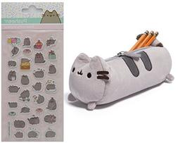 "Gund Pusheen 8.5"" Accessory Case with Pusheen Super Puffy St"