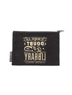 Out of Print Harry Potter When in Doubt Zipper Pouch/Pencil