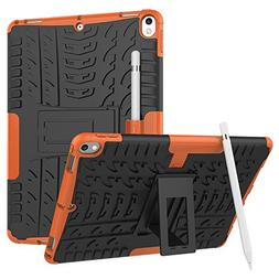 Windpnn Heavy Duty Shockproof Kickstand Anti-Scratch Dual La