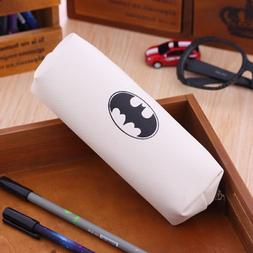 "Hero series batman pencil case 7""x2.7"", beige"