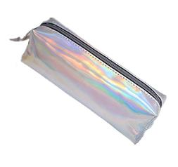 Marchome Hologram Pu Leather Pen Bag Pouch Stationary Case M