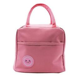 Mziart Insulated Lunch Bag, Cute Reusable Lunch Tote Bag wit