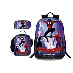 Into the Spider Verse Miles 3 In 1 Backpack Pencil Case and