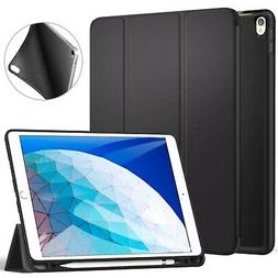 Ztotop iPad Pro 10.5 Case with Pencil Holder, Ultra Slim Sof