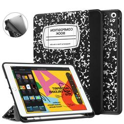 """For iPad 7th Gen 10.2"""" 2019 Case Lightweight Stand Cover w/"""