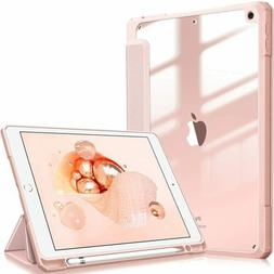 For iPad 7th Generation 10.2 inch 2019 Slim Shell Case Trans
