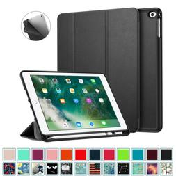 """For iPad 9.7"""" 2018 2017 Case Smart Stand Cover with Built-in"""