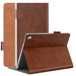 auaua iPad Pro 9.7 Case, PU Leather Case for iPad Pro 9.7 wi