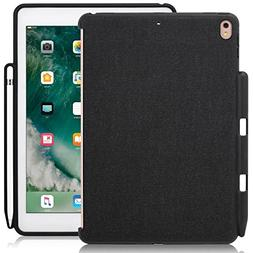 iPad Pro 10.5 Inch Black Case With Pen Holder - Companion Co