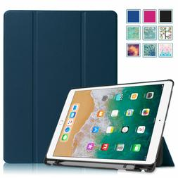 For iPad Pro 10.5 inch 2017 Case Slim Shell with Apple Penci