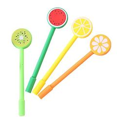 Gbell Kids Girls Boys Cute Fruit Pens, Creative Stationery S