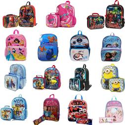 Kids School Bag Backpack with Lunch Bag and Pencil Case Set