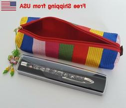 Korean Pencil Case with a Traditional Pen Free Shipping from