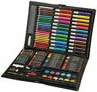 120 Pieces Drawing Art Set With Case Crayons Markers Color P