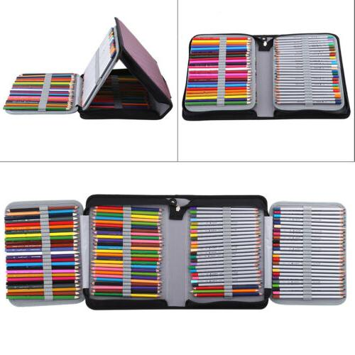 150 Slots Case Stationery PencilCase Drawing Painting Storage