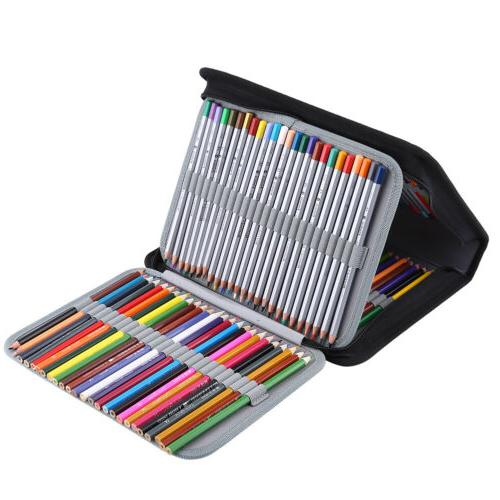 150 Slots Colored Case PencilCase Painting