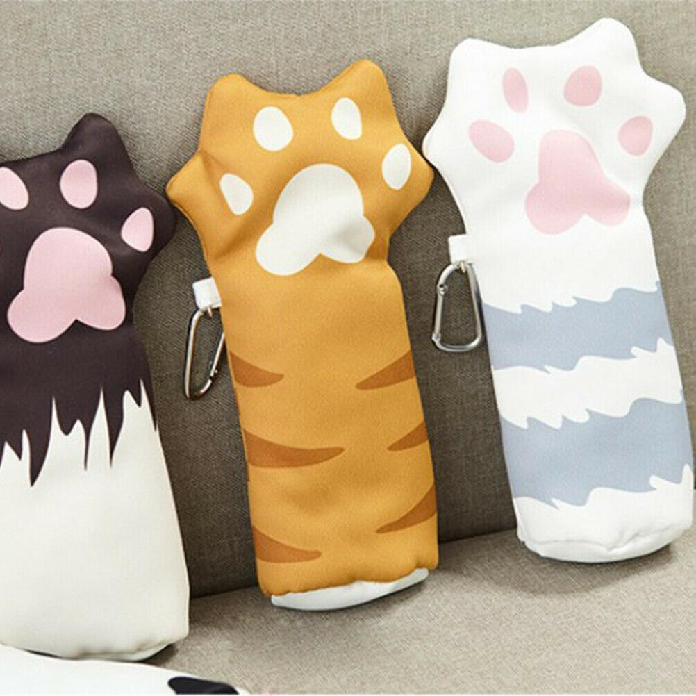 1pc Pencil Case Kawaii Cat Claw Cute Pen for Girls Kids