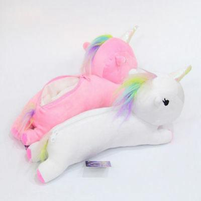 Unicorn Plush Bag Case Cosmetic USA