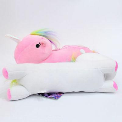 Unicorn Bag Cartoon Pencil Case Cosmetic Travel USA