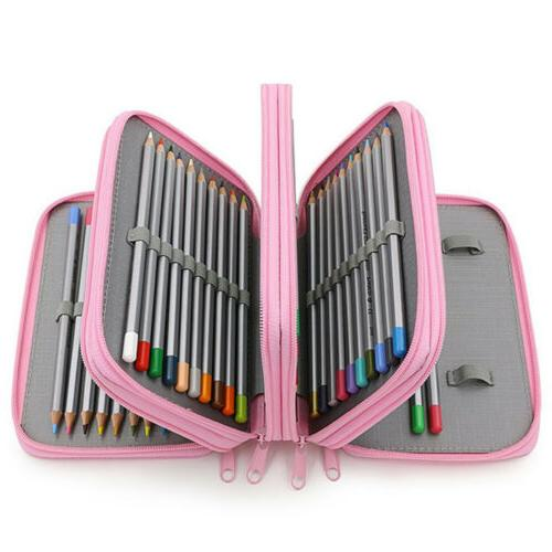 Case Bag Organizer Large Capacity Pen Case Holder