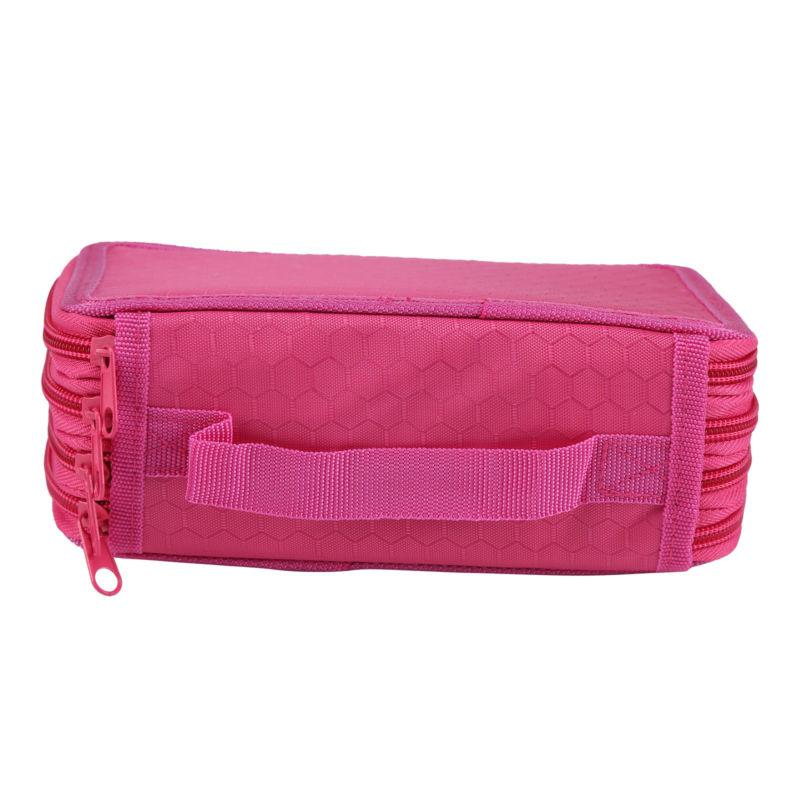 4 Layers Nice Pencil Brush Case Box Pen Bag Makeup Storage Bag