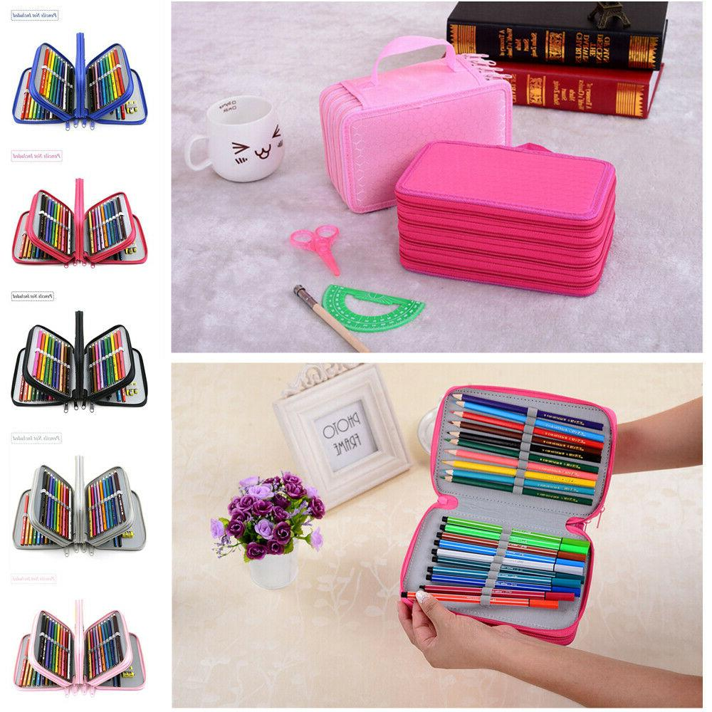 72 slots pencil case handy large capacity