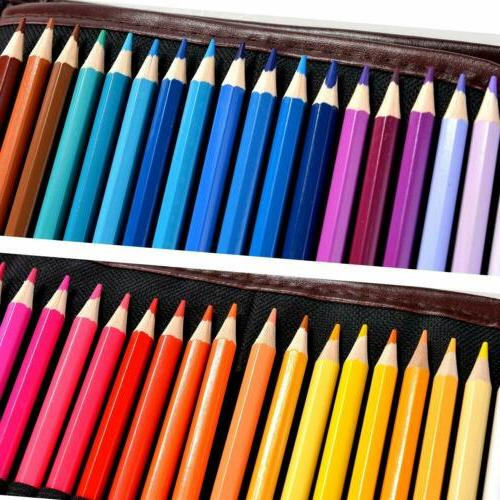 72Colors Art Oil Base Marco Pencil Set Case