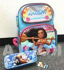 "Disney Moana Large Backpack 16"" school backpack With pencil"