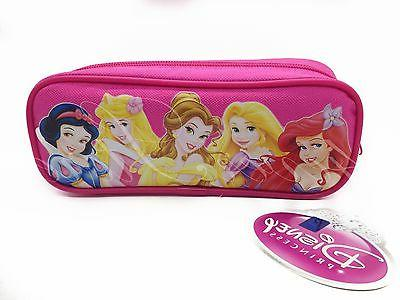 Disney Princess Pencil Pouch - Zippered Pencil Pen Crayon Ca