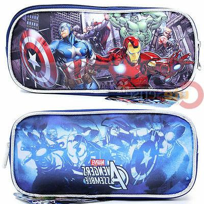 Marvel Avengers Heroes Pencil Case Accessory Case Bag Iron m