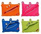 NEW ZIPIT Monster 3-Ring Pencil Case, 4-Pack  TAXFREE