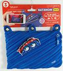 New With Tags Zipit Blue Talking Monstar Face 3 Ring Pencil