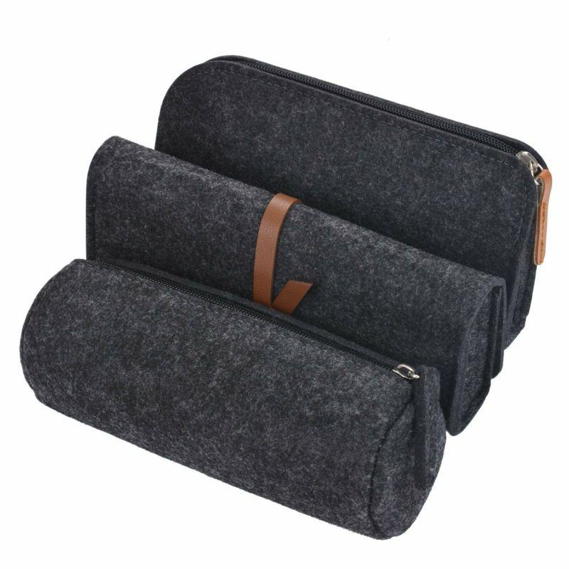 Pencil Case, Pack Holder Cosmetic Dark