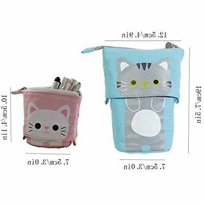 Pencil Stand Cartoon Cute Cat